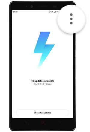 MIUI Updater app 01