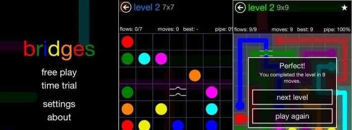 لعبة Flow Free: Bridges