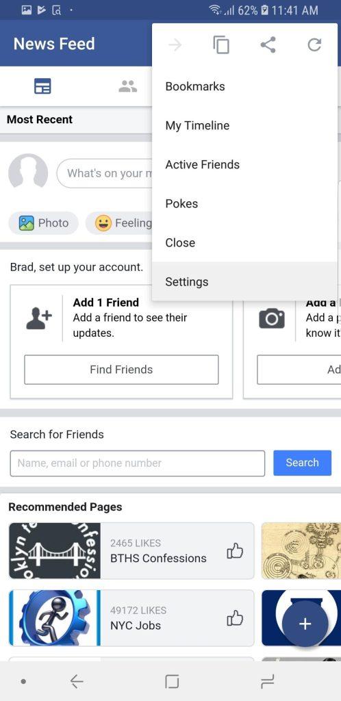 شرح كيفية إخفاء قصص الفيسبوك (Stories) نهائيًا على الاندرويد والايفون 3