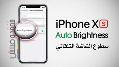Disable iPhone Xs Auto Brightness