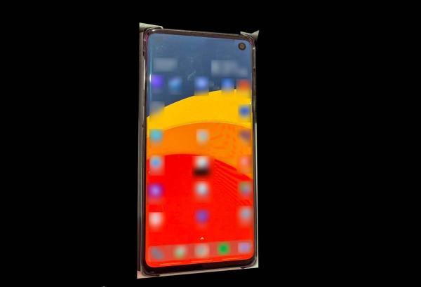 Samsung Galaxy S10 Leaked display