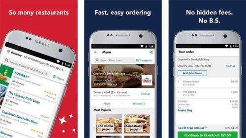 تطبيق إيت 24 لتوصيل الطعام دليفري في امريكا
