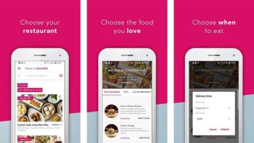 تطبيق فوت باندا لتوصيل الطعام دليفري