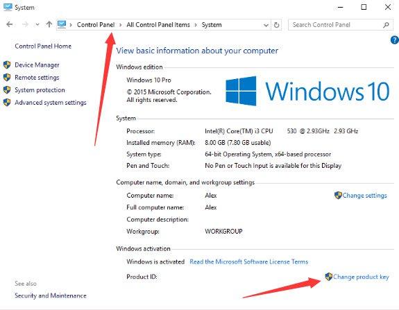 Activate Windows 10 Pro 02