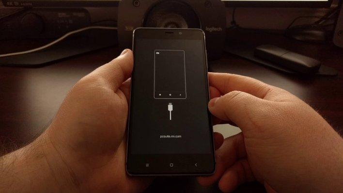 إعادة تشغيل هاتف شاومي أو ريدمي بداخل وضع Recovery