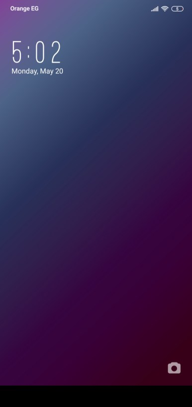 واجهة القفل لثيم IUI Dark TT
