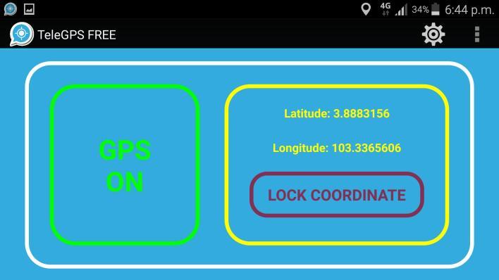 تطبيق GPS To Telegram Locator أحد تطبيقات التليجرام