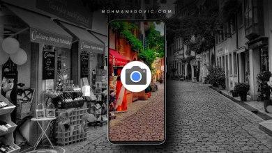 تطبيق كاميرا جوجل apk لهاتف جالكسي a50, a70