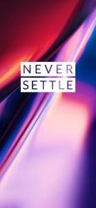 OnePlus 7 Pro Wallpaper Never Settle Mohamedovic 01