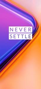 OnePlus 7 Pro Wallpaper Never Settle Mohamedovic 04