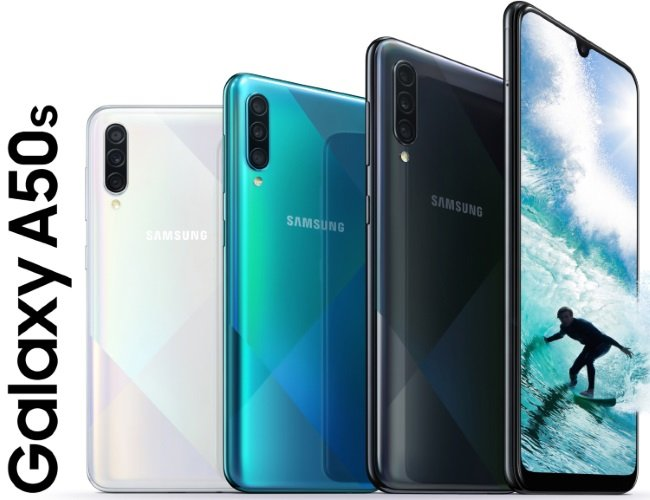 Samsung Galaxy A50s Colors