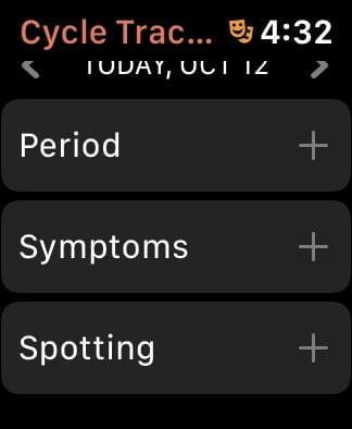 Cycle Tracker Apple Watch 03
