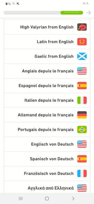 اللغات التي يمكنك تعلمها من خلال اللغة الفرنسية