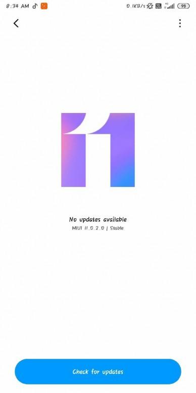 Redmi Note 5 Pro MIUI 11 Update 02 1