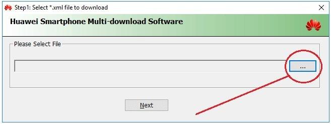 Using Huawei Multi Download Tool 03