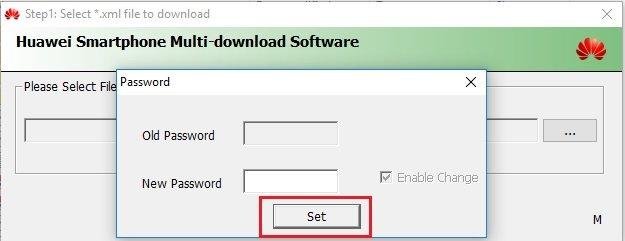 Using Huawei Multi Download Tool 04