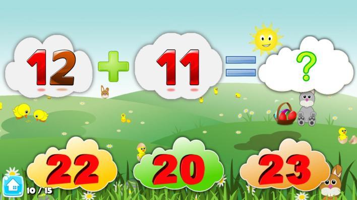 تطبيق KIDS MATH - MATH GAME FOR KIDS