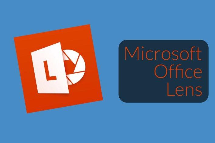 Microsoft Office Lens أحد برامج مايكروسوفت