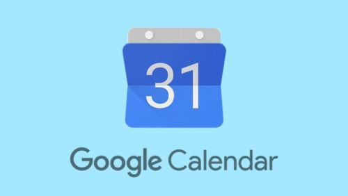 تطبيق Google Calendar أحد تطبيقات جوجل