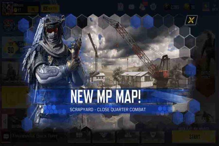 خريطة جديدة في كول اوف ديوتي