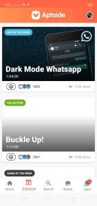تحميل يوتيوب الاسود Dark Mode من ابتويد