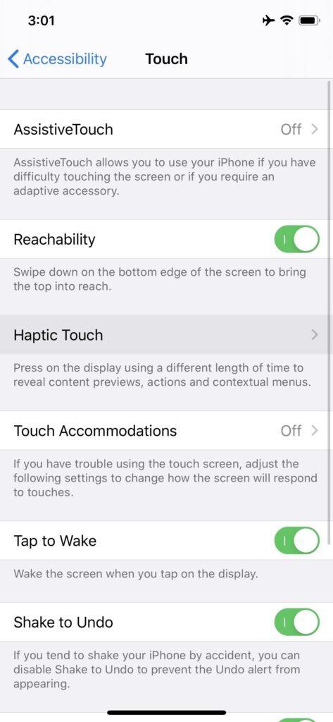 إعدادات إمكانية الوصول Accessibility1 1