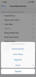 إعدادات إمكانية الوصول Accessibility1