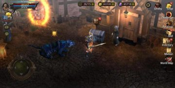 BloodWarrior لعبة من الألعاب التي تشبه دايبلو
