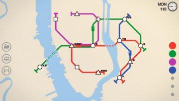 لعبة Mini Metro للأندرويد