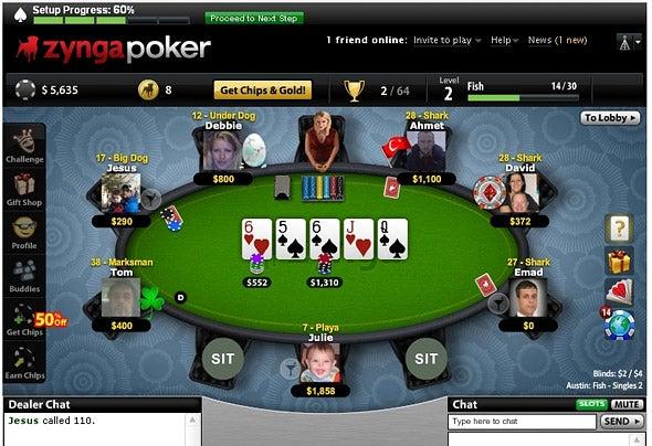 إن كنت جديدا في العاب البوكر، اقرأ تعليمات لعبة zynga poker texas holdem