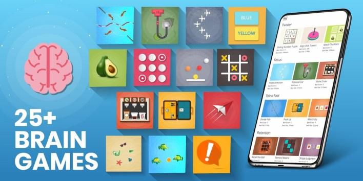 تطبيق Brain Games For Adults & Kids