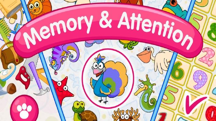 تطبيق Memory & Attention Training for Kids
