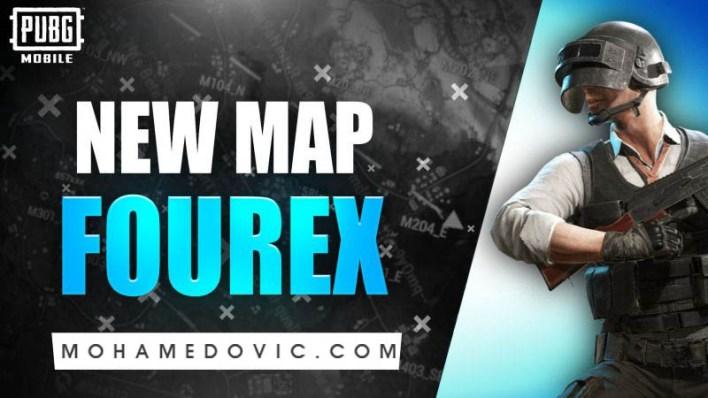 Fourex Map in PUBG Update