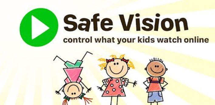 تطبيق Safe Vision أحد بدائل اليوتيوب للاطفال