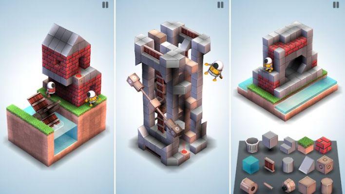 لعبة Mekorama ذات مساحة تخزين منخفضة