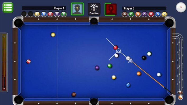 لعبة Pool King ذات مساحة التخزين المنخفضة