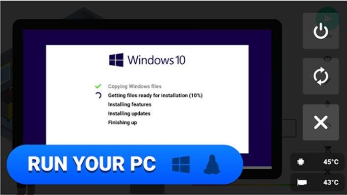 لعبة PC Creator لعبة ذات مساحة تخزين منخفضة
