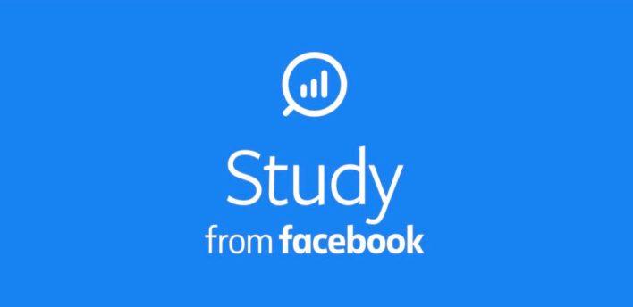 تطبيق Study from Facebook