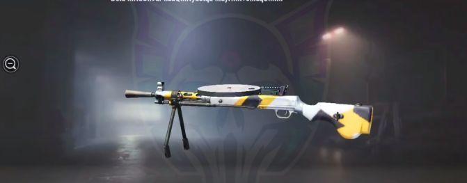 سلاح جديد يتم تصنيعه في PUBG Mobile 0.19.0
