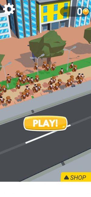 أول دور في لعبة Commuters