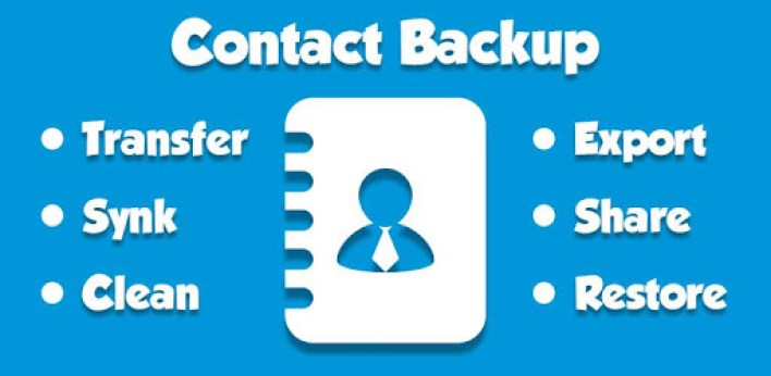 تطبيق Contacts Backup