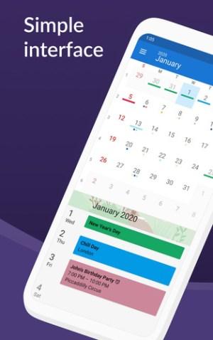 تطبيق DigiCal Calendar Agenda
