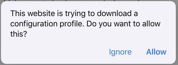 Download iOS 14 Beta Profile