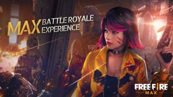 Free Fire Max game with ultra high graphics