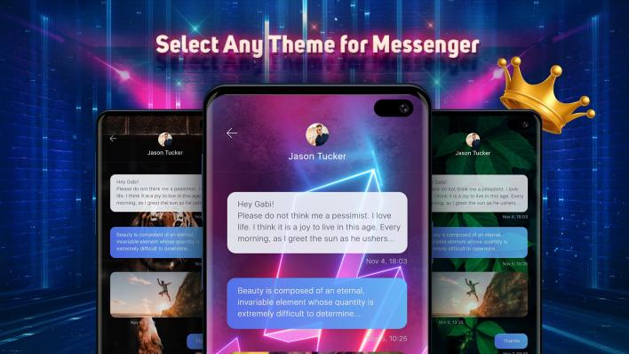 تطبيق Themes for Messenger