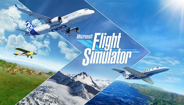 لعبة Microsoft Flight Simulator 2020