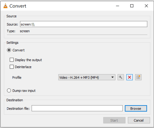 قائمة Convert الموجودة في برنامج في ال سي بلاير