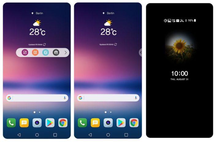 تحديث LG UX 9.0
