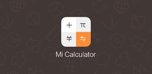 تطبيق Mi Calculator