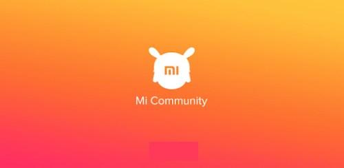 تطبيق Mi Community أحد تطبيقات شاومي